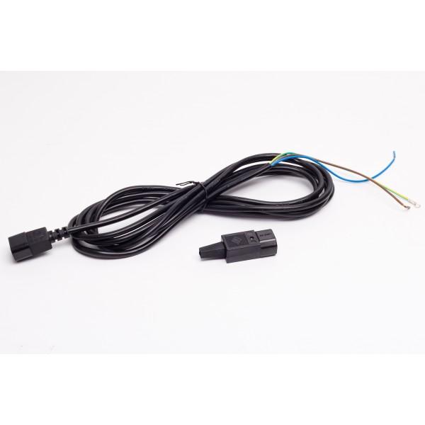 Flexi kabel s IEC koncovkou 3*1,0mm,délka 4m