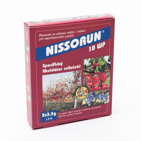 Nissorun 10 wp 2x3,5g (svilušky larvy, vajíčka)