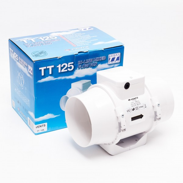 Ventilátor TT125 – 220/280m3/h / 125mm