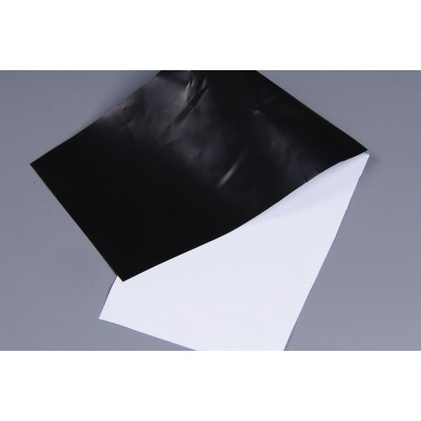 Folie černobílá odrazivá 125um, cena za bm 2 x 1m